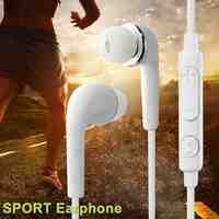 Portable Earphone Wire Headset Earphone 3.5mm Music Headphones with Microphone for Mp4 iPhone Samsung Xiaomi Huawei Mobile Phone