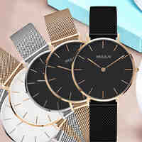 Luxury Brand Quartz Watch Women fashion Gold Steel Bracelet Watch dw watch style Rhinestone Ladies Dress Watch relogio feminino