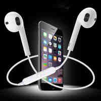 S6 Bluetooth Wireless Earphone Sports Headset Earbuds earphone In-Ear Earpieces With Microphone For Android iPhone xiaomi
