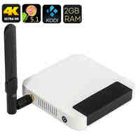 UGOOS UT4 Android TV Box - UHD 4K, Kodi 16, Android 5.1, Rockchip 64BIT Octa Core CPU, 2GB RAM