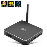 4K Smart Android TV Box - Octa Core CPU,  Kodi 15.2, UHD 4Kx2K Support, Android 5.1, Miracast, Airplay, DLNA