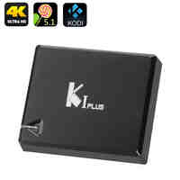K1 Android TV Box - Android 5.1, 4K, Amlogic S905 Quad Core CPU, HDMI 2.0, H.265 Decoding