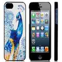 Peacock Skinning Plastic Case for iPhone 5