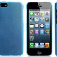 Matte Plastic Case for iPhone 5C (Blue)