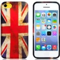 UK Flag Plastic Case for iPhone 5C