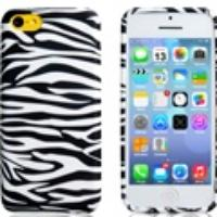 Zebra Print Plastic Case for iPhone 5C