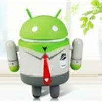 Google Android Robot Doll Toy Action Figure (Green)
