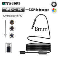 Antscope Android Endoscop USB Camera Type C USB Endoscopio Inspection Camera PC Android for Huawei Phones Borescope