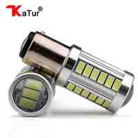 2 Pieces S25 1157 BAY15D Led Turn Signal Reverse Light 5630 LED High Power Led Car Auto Led Bulb Light P21/5W 1157 Led For Cars