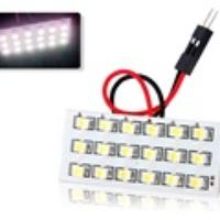18SMD LED Car Light Bulb (White)