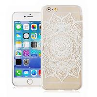 Restoring Ancient Ways Pattern Transparent Phone Case Back Cover Case for iPhone6 Plus Case
